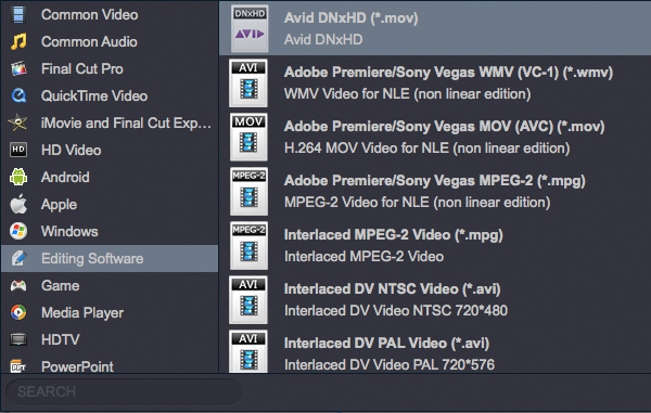 Nikon D810A to Avid Media Composer and Sony Vegas Pro