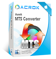 MTS Converter for Mac-Acrok